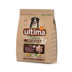ULTIMA NATURE Nature no grain croquettes dinde légumes pour chien 2,7kg