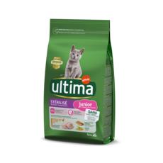ULTIMA Croquettes au poulet pour chats stérilisés junior 1.5kg