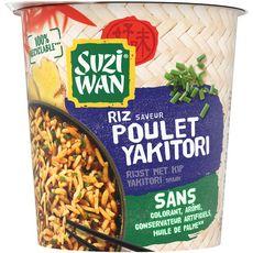 SUZI WAN Riz saveur poulet yakitori 1 personne 65g