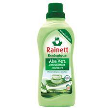 RAINETT Assouplissant concentré écologique à l'aloé vera peaux sensibles 31 lavages 750ml