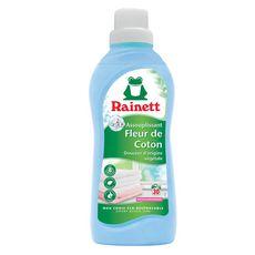 RAINETT Assouplissant linge concentré écologique fleur de coton 31 lavages 750ml