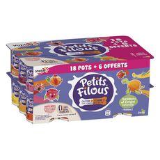 PETITS FILOUS Spécialité laitière sucrée aux fruit 24x50g