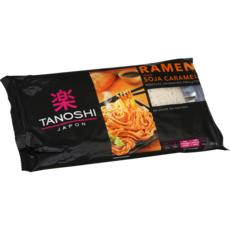TANOSHI Ramen nouilles asiatiques précuites saveur soja caramel 2 personnes 360g