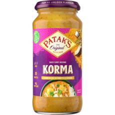 PATAK'S Sauce korma 450g