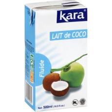 KARA Lait de coco fluide 500ml
