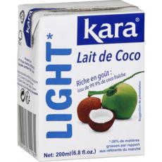 KARA Lait de coco light -30% de matière grasse 200ml