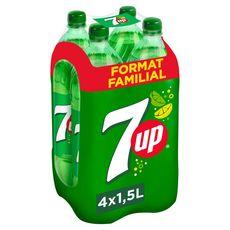 7UP Boisson gazeuse aux extraits de citron citron vert 4x1,5l