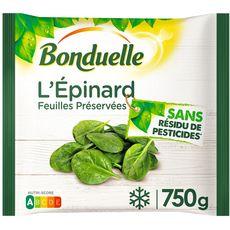 BONDUELLE Epinards en branches  750g
