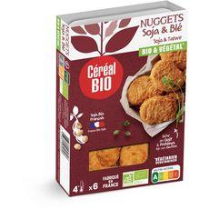 CEREAL BIO Nuggets soja et blé 6 pièces 180g