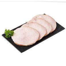 AUCHAN LE CHARCUTIER Rôti de porc supérieur 4 tranches 200g