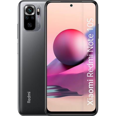 XIAOMI Smartphone Redmi Note 10S  128 Go  6.43 pouces  Gris  4G  Double Sim