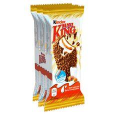 KINDER Maxi king Fines gaufrettes enrobées de chocolat au lait 3x35g