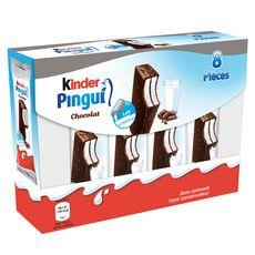 KINDER PINGUI Gâteau frais au lait et chocolat 8x30g