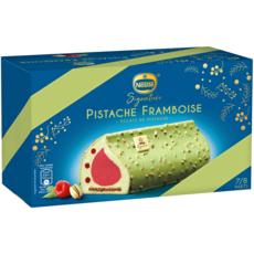 NESTLE Bûche glacée pistache framboise 7-8 parts 511g