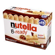 NUTELLA B-Ready gaufrettes fourrées de pâte à tartiner 15 biscuits 330g