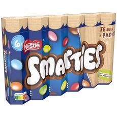 SMARTIES Bonbons chocolatés  6 tubes 204g
