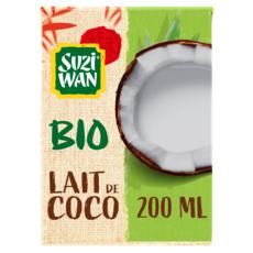 SUZI WAN Lait de coco bio 200ml