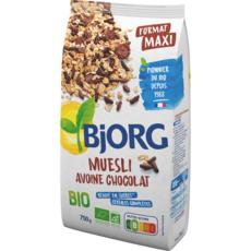 BJORG Muesli avoine chocolat bio 750g