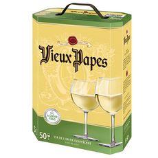 VIEUX PAPES Vin de la communauté européenne blanc 5L