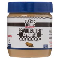 CLASSIC FOODS OF AMERICA Beurre de cacahuète crémeux 340g