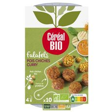 CEREAL BIO Falafels pois chiches et curry vegan bio 10 pièces 175g