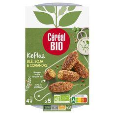 CEREAL BIO Keftas blé soja coriandre 5 pièces 190g