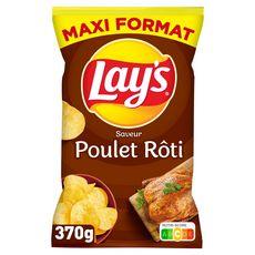 LAY'S Chips saveur poulet rôti maxi format 370g