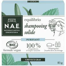 N.A.E Shampooing solide purifiant bio cheveux gras 85g