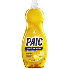 PAIC Hygiènes 3 en 1 liquide vaisselle 750ml