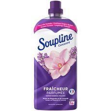 SOUPLINE Assouplissant liquide concentré magnolia et lavande 56 lavages 1,2l