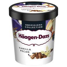 HAAGEN DAZS Pot de crème glacée vanille pécan 400g