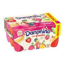 DANONINO Yaourt aux fruits 24x50g