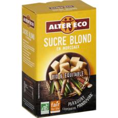 ALTER ECO Sucre blond bio et équitable en morceaux 500g