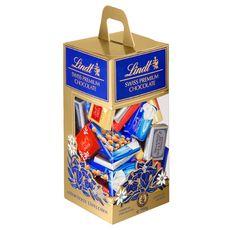 LINDT Mignonettes de chocolats assortis premium 500g