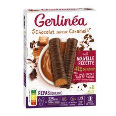 GERLINEA Repas minceur saveur chocolat caramel riche en protéines 372g