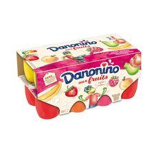 DANONINO Petits suisses aux fruits 16x50g