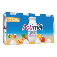ACTIMEL à boire multifruits 8x100g