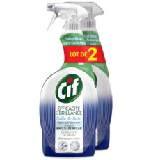 CIF Nettoyant salle de bain spray 2x750ml