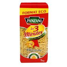 PANZANI Macaroni cuisson rapide  1kg