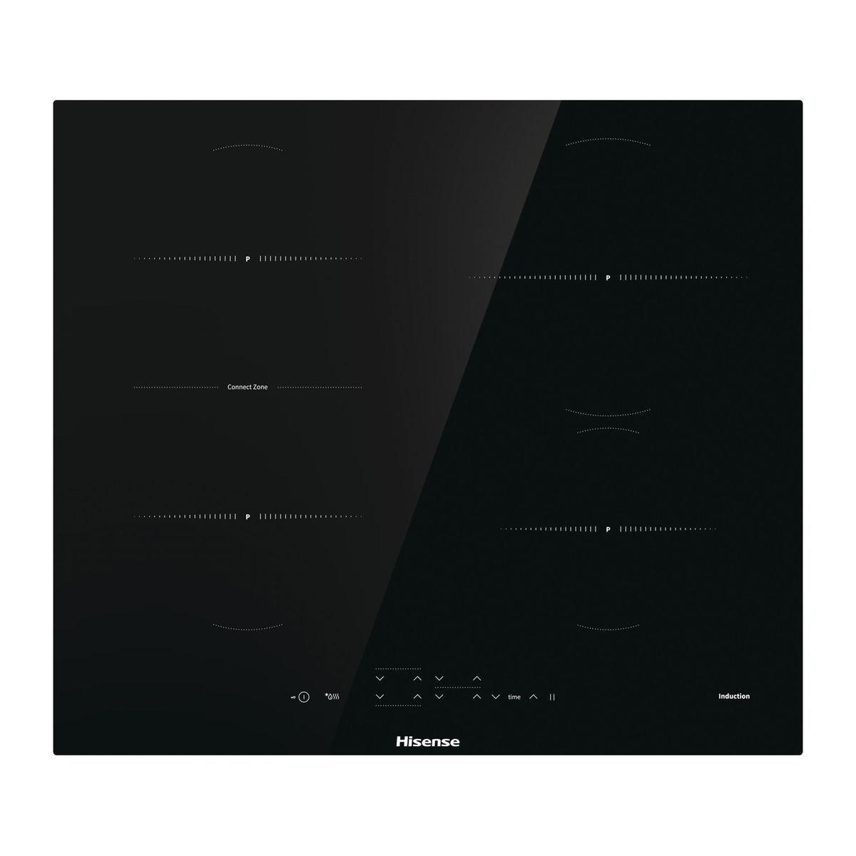 Table de cuisson à induction I6433CB, 59.5 cm, 4 foyers