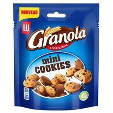 GRANOLA Mini cookies biscuits aux pépites de chocolat 110g