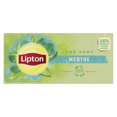 LIPTON Thé vert vibrant menthe 30 sachets 50g