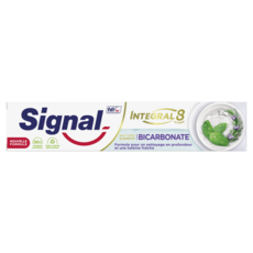 SIGNAL Dentifrice Integral 8 Nature Elements fraîcheur au bicarbonate  75ml