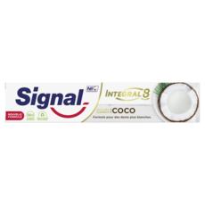 SIGNAL Dentifrice antibactérien blancheur Nature Eléments coco 75ml