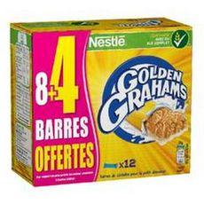 NESTLE Goden Grahams Barre de céréales 8+4 offertes 300g
