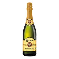 KERISAC Cidre Breton pur jus doux IGP 2,5% 75cl