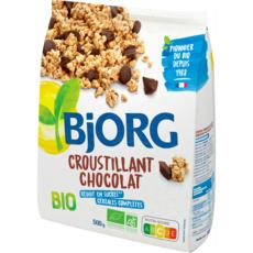 BJORG Croustillant céréales bio au chocolat 500g