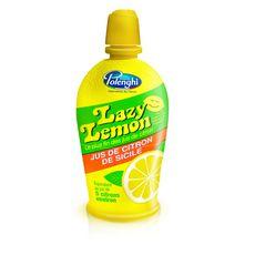 LAZY LEMON Jus de citron jaune 125ml