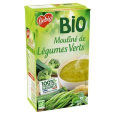 LIEBIG Mouliné bio de légumes verts 100% ingrédients naturels 4 personnes 1l