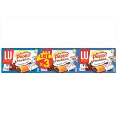 PEPITO Pockitos Biscuits au chocolat au lait 3x295g